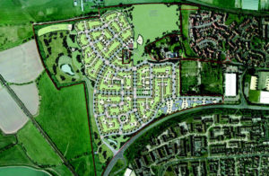 West Sussex, Littlehampton - Land farmed out for brand new housing - Featured Image